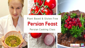 Persian Feast – Plant Based and Gluten Free Persian Cooking Class